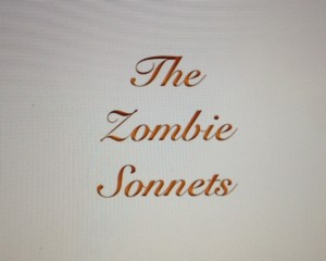 The Zombie Sonnets: Halloween