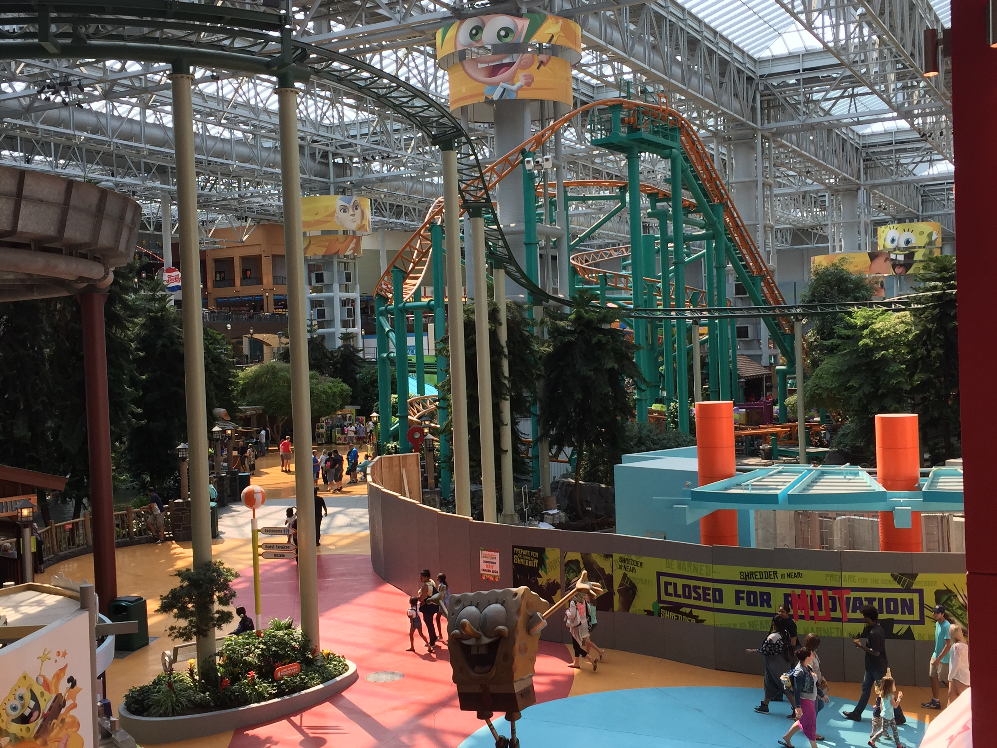 Mall of America cheating death